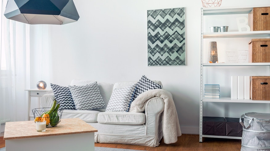 tips for organizing a studio apartment