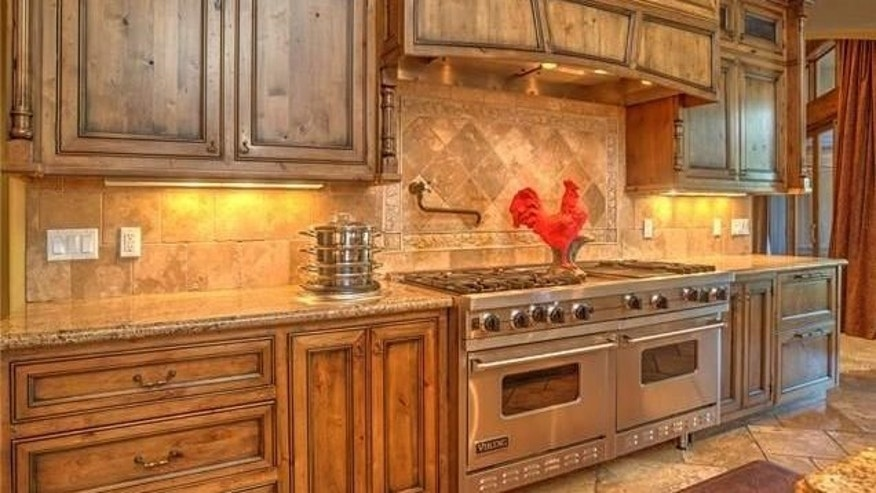High end appliances and rooster.