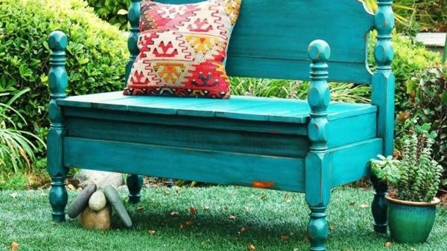 bench upcycled outdoor furniture