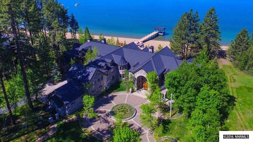Lake Tahoe lakeside estate