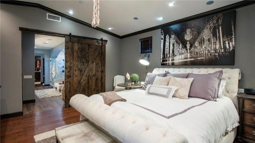 Remodeled master suite in home of former MLB player Jim Edmonds and Real Housewife of Orange County Meghan King Edmonds