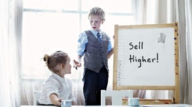 kid giving advice on selling house