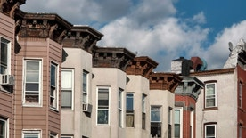Low income housing in Sunset Park, New York City