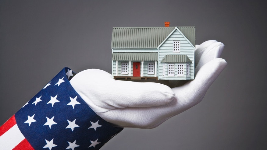 Uncle Sam holding a house; What is Section 8 housing?
