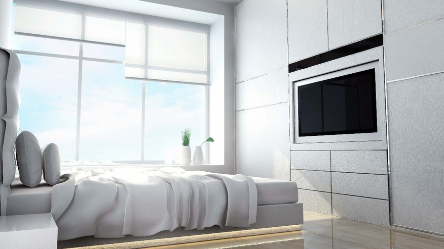 TV in the bedroom? That's the dream.