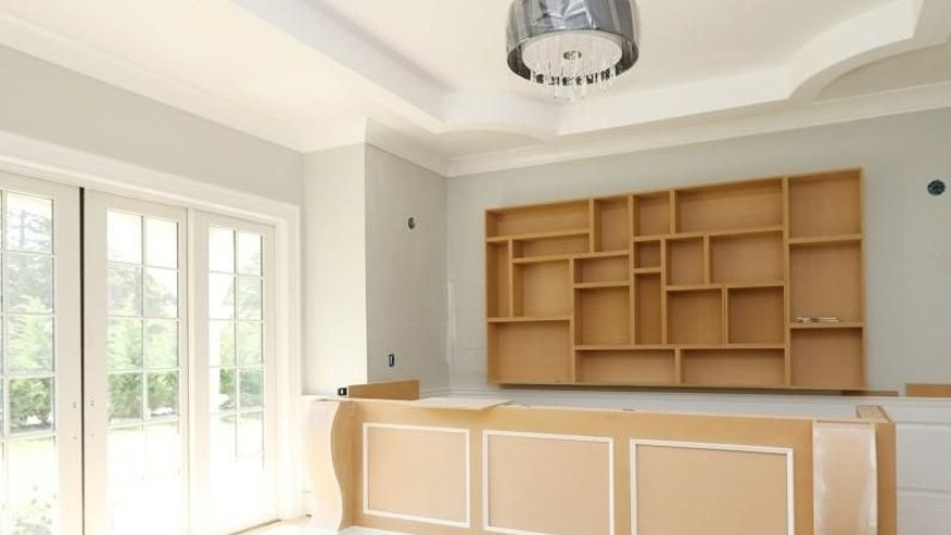 Franklin Lakes unfinished kitchen