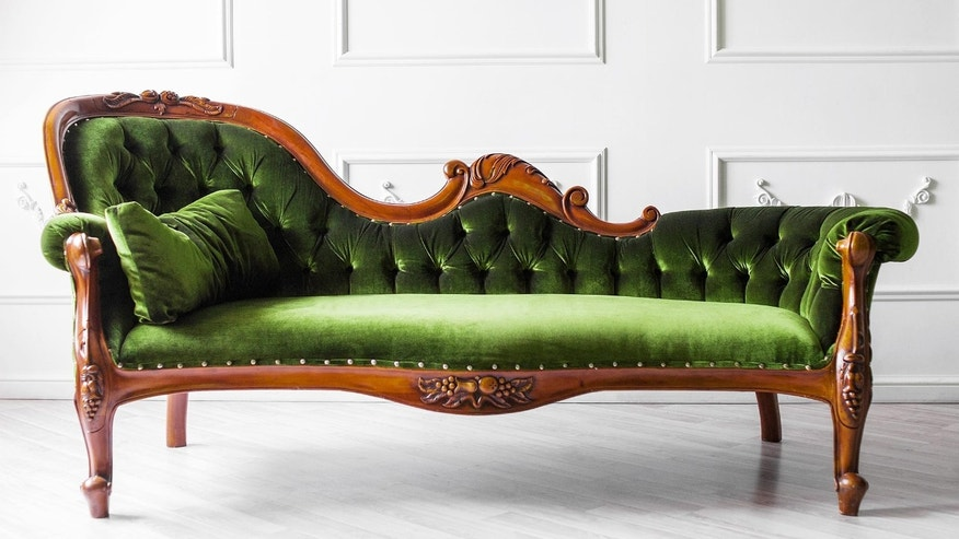 If you're knocked out by great design, take a seat on this art deco fainting couch.