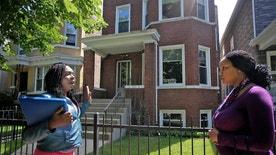 Section 8 housing in the Logan Square neighborhood of Chicago, Illinois
