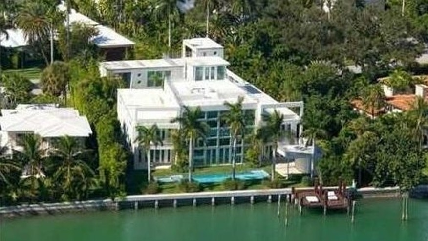 Lil Wayne's Miami mansion