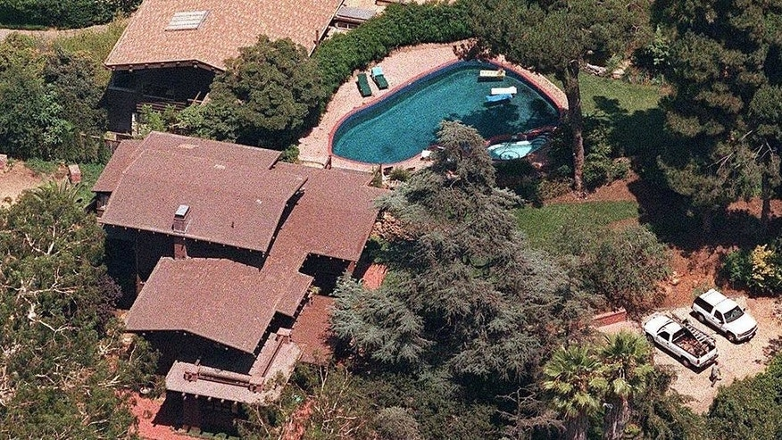Brad Pitt and Angelina Jolie's main home in Los Angeles