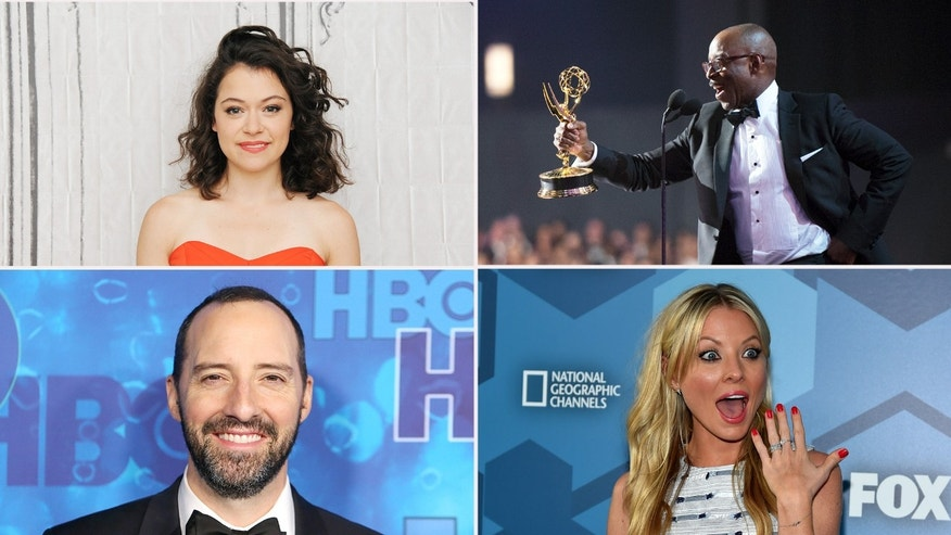 Tatiana Mislany, Courtney B. Vance, Kaitlin Doubleday, Tony Hale