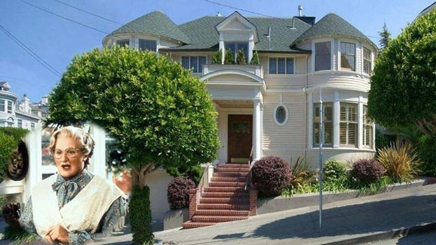 Home used in Mrs. Doubtfire goes for sale