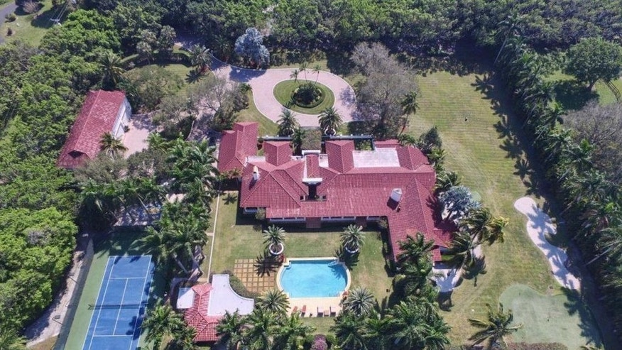 Chris Evert's mansion