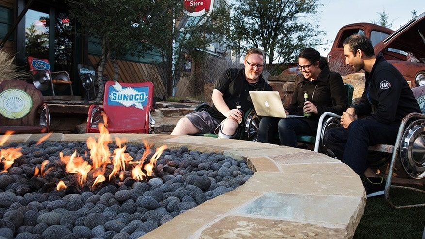 Corporate Fire Pit