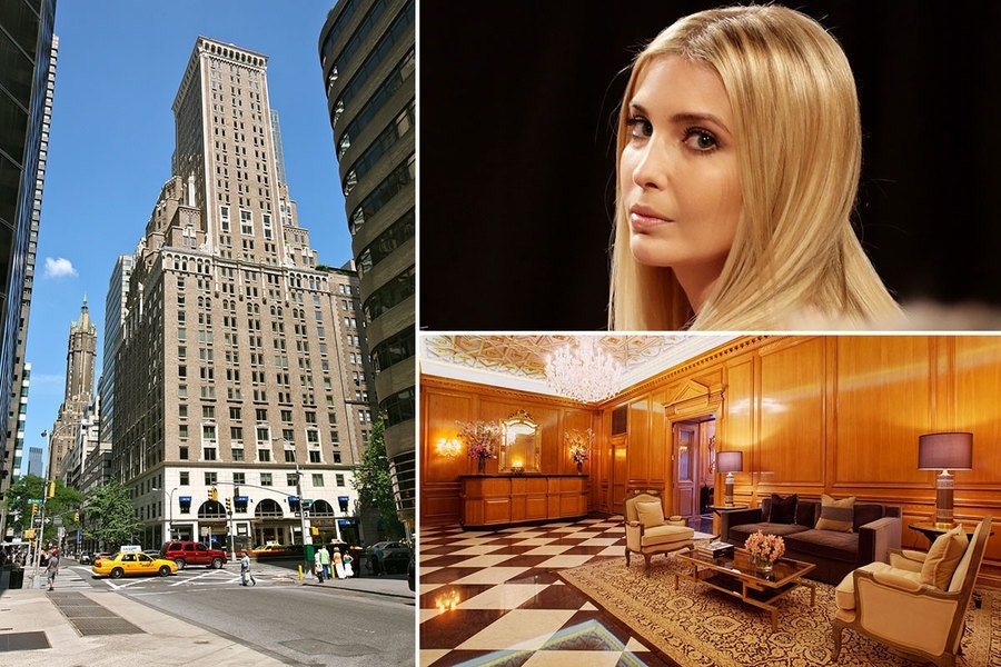 Ivanka trump cuts rent on new york city condo fox news for Rent new york city