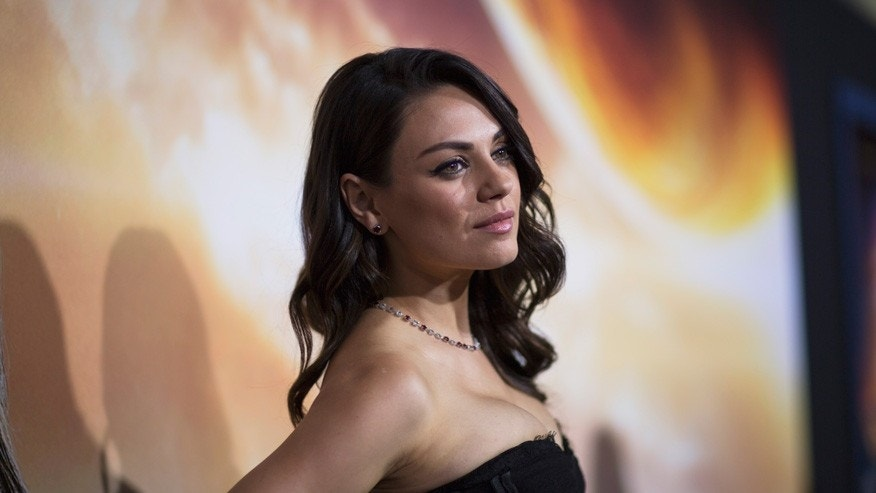 Mila Kunis surprises parents with brand new living room