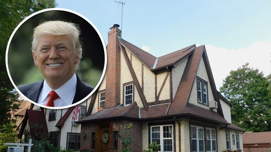A company called the Trump Birth House has just listed the president's first home.