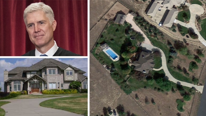 "Gorsuch's property is being marketed as a ""horse lover's paradise."""