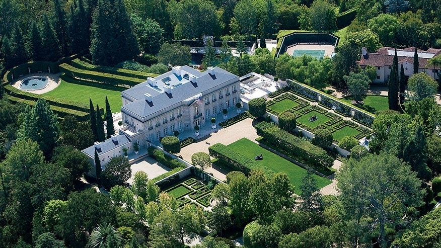 'Beverly Hillbillies' house hits the market at $350 million, is America's most expensive listing