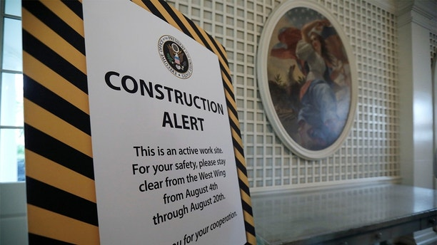 WH renovation 3 White House renovations to be completed next week, including new carpets and curtains White House renovations to be completed next week, including new carpets and curtains 1502989290181