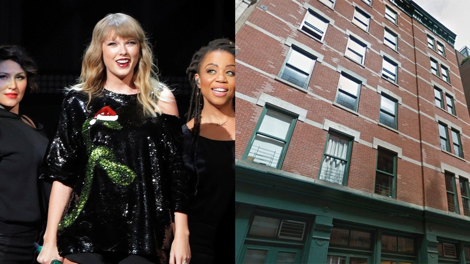 "Swift's neighbors on Franklin St. say she's attracting too much paparazzi — and the people who share her building claim her bodyguards hold the elevator for up to a half-hour just ""waiting for her"" on the top floor."