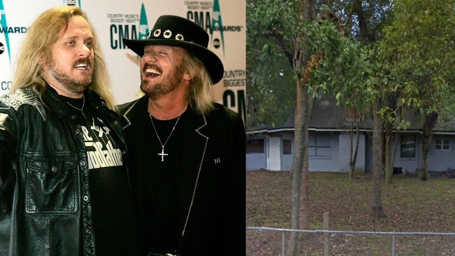 The house where rockers Ronnie, Donnie and Johnny Van Zant grew up is officially one of Florida's historic sites.
