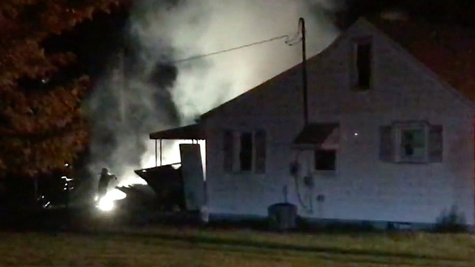 The garage accidentally went up in flames in the wee hours of Thursday morning.