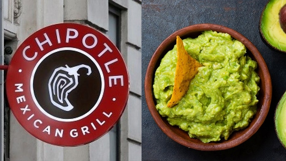 The Mexican grill is giving away free guac for one day only with the purchase of an entree.
