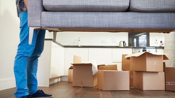 couch delivery istock