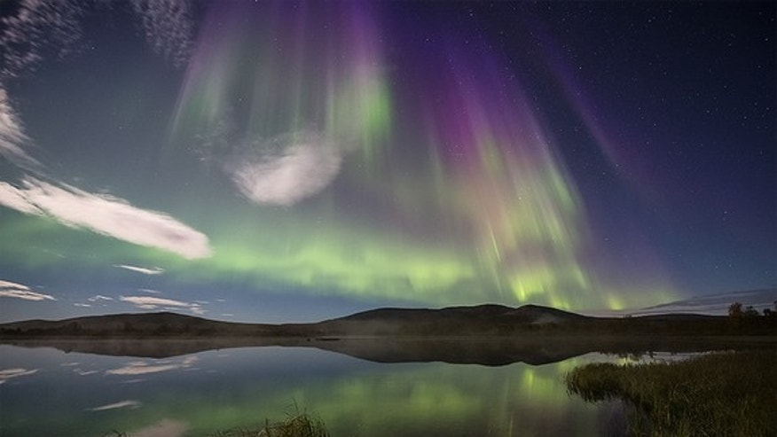 The northern lights, supercharged by a recent solar storm, dance above Naimakka, Finland, in this shot snapped on Sept. 4, 2012, by Ole Salomonsen.