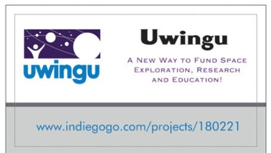 The deadline to donate toward Uwingu's startup costs is Friday, Sept. 14.
