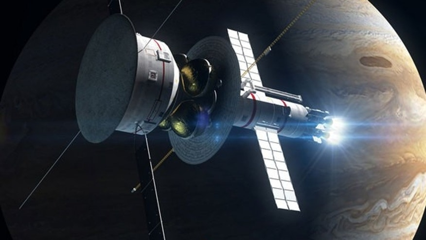 A potential spacecraft called Icarus Pathfinder would be powered by VASIMR engines, taking it out to 1,000 AU (the distance between the Earth and sun).