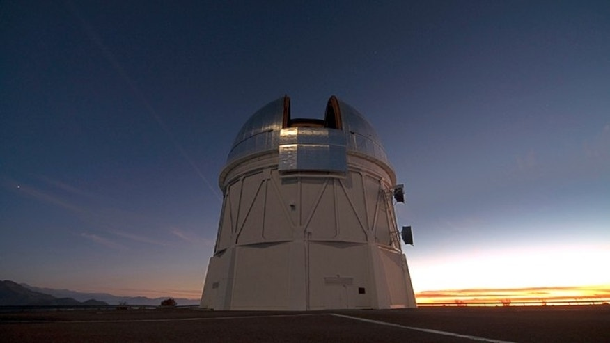 The Blanco telescope in Chile.