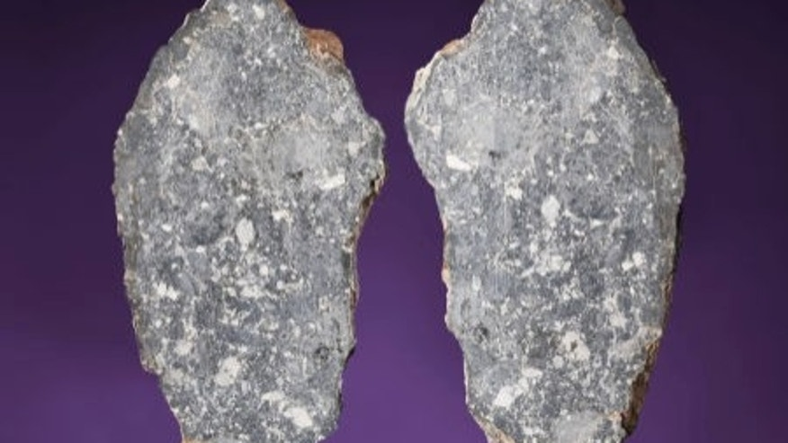 A moon rock for sale by Heritage Auctions came to Earth as a meteorite. The specimen is expected to sell for upwards of $380,000.