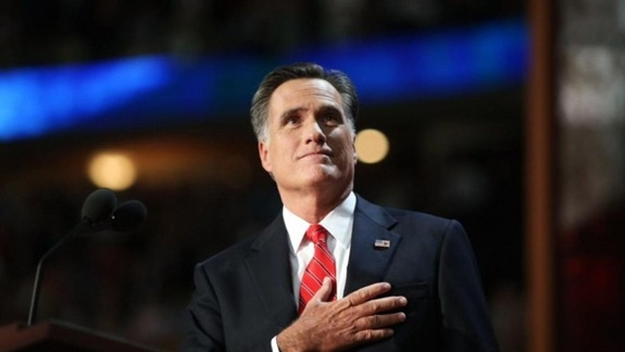 Mitt Romney accepted the Republican presidential nomination at the 2012 Republican National Convention in Tampa, Fla.
