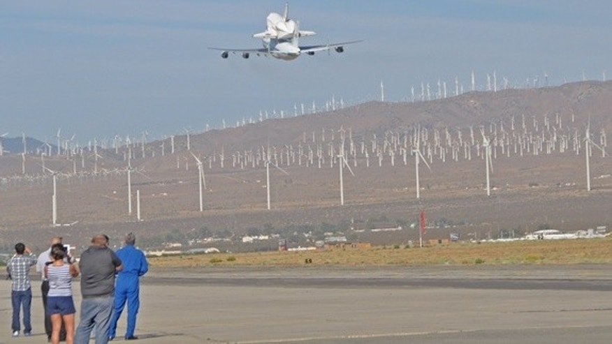Endeavour's last flight was watched intently by a new generation of space wizards at the Mojave Air and Space Port on Sept. 21, 2012. Engineers and technicians from The Spaceship Co., Masten, XCOR and other Mojave companies accompanied by their