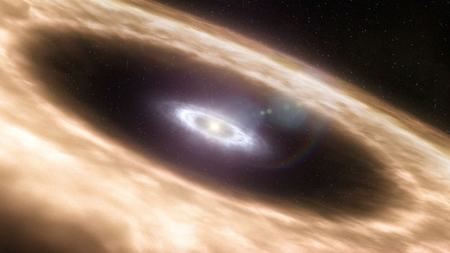 Solar shockwaves would have produced proto-planetary rings at different times, meaning the planets did not form simultaneously.