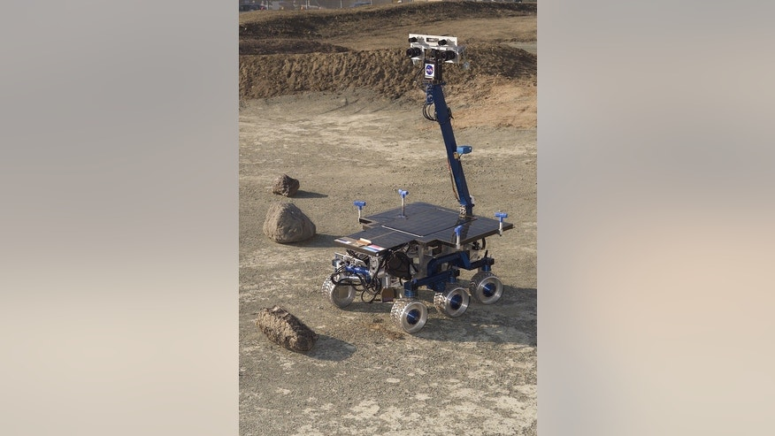 Scientists and engineers are testing new technologies using a rover at NASA's Ames Research Center. The robot is also being used to appraise new gear for Mars exploration. In a near-term test, the rover will evaluate deployment of lunar equipme