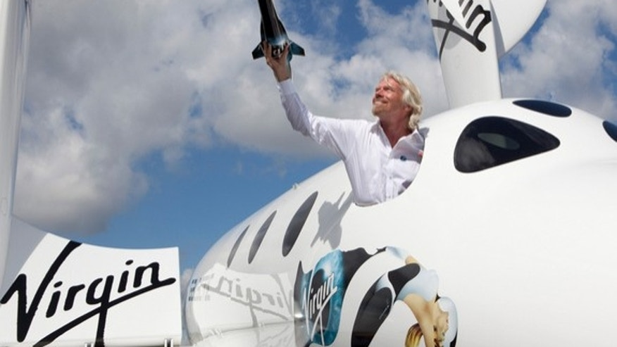 Sir Richard Branson introduces LauncherOne to the world.