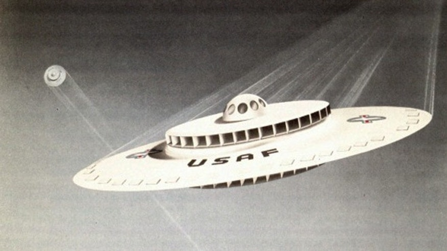 Recently declassified documents reveal a 1950s U.S. Air Force effort to build a flying saucer.