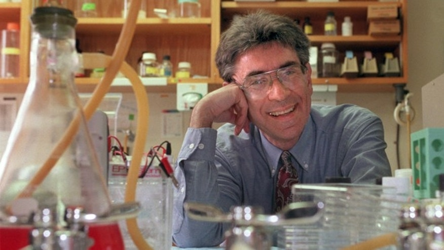 Oct. 10, 2012: Dr. Robert Lefkowitz of Duke University photographed in his lab on campus in Durham, N.C. in 1996.  Lefkowitz along with American Brian Kobilka have won the 2012 Nobel Prize in chemistry.