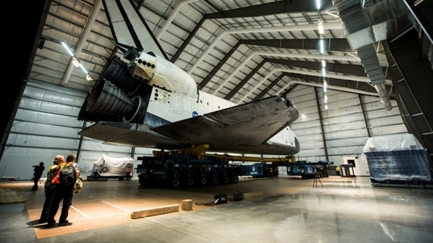 "Space shuttle Endeavour's trip through Los Angeles stars in a stunning time-lapse movie by a photography team led by Matt Givot. The movie ""Mission 26: The Big Endeavour"" chronicles Endeavour's delivery to the California Science Center on Oct."
