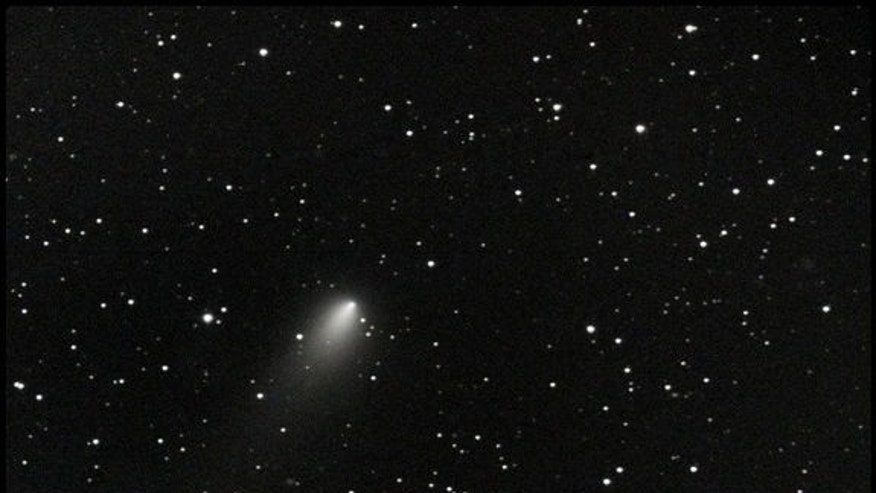 "This Comet 168P/Hergenrother photo was taken Oct. 21, 2012, by Slooh member ""Dave Lrkn."""