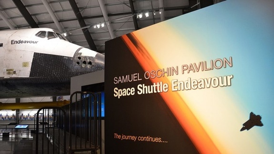 Space shuttle Endeavour is now on display at the California Science Center in Los Angeles. <a href=http://www.collectspace.com/news/news-103112b.html>See collectSPACE.com for more photos</a>.