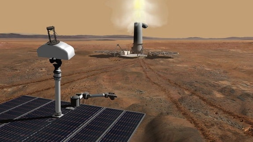 A scoop and scramble Mars sample return mission has long been sought by the scientific community.