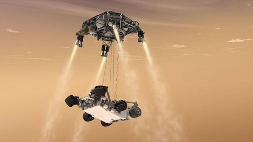 The recent landing of Curiosity, the mega-rover for Mars, made use of a Sky Crane concept that might prove useful in the future to plop down on the Red Planet a sample return mission.