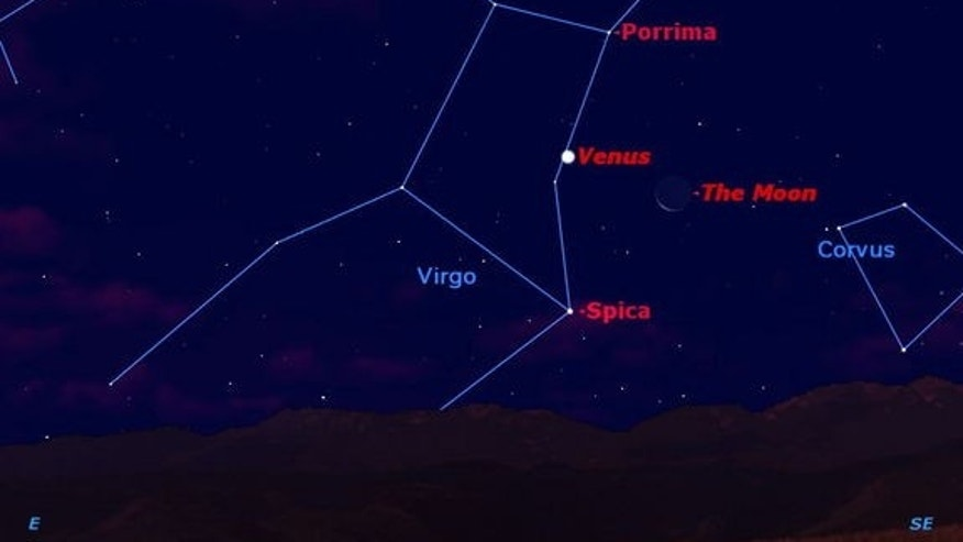 The bad news is that you have to get up an hour earlier this week because daylight saving time has ended. The good news is that if you're up before the sun, you'll witness a beautiful triple conjunction of the moon, the planet Venus, and the br