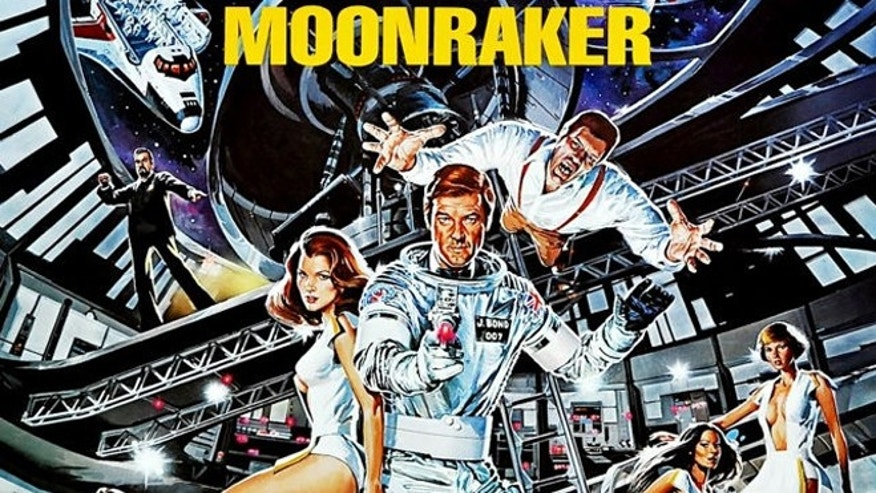 "In ""Moonraker"" (1979), James Bond ventured in outer space to battle villian Hugo Drax."