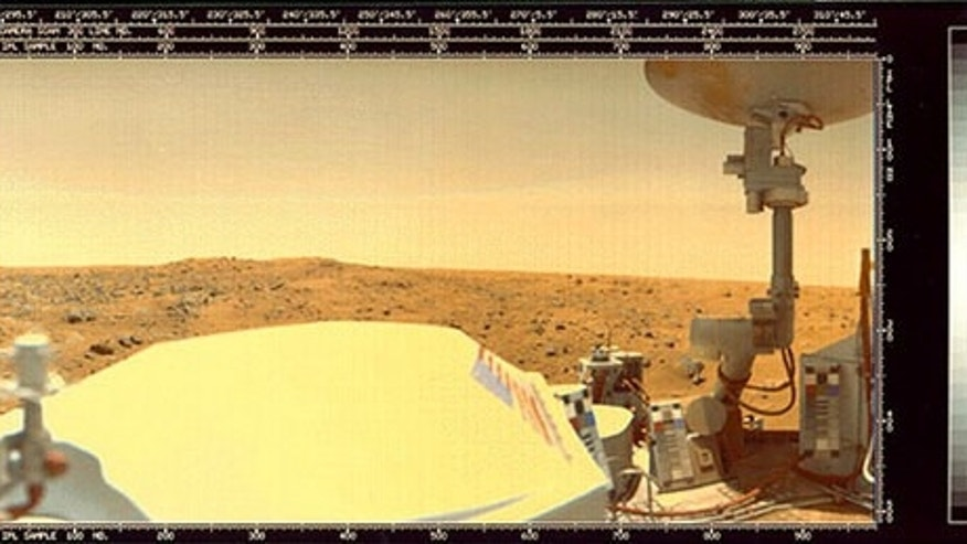 "NASA's Viking probes were the first ever to successfully <a href=""http://www.space.com/news/spacehistory/vikingone_landing_lee_010720-1.html"">set footpad on Mars</a> in a powered landing. Launched in June 1976, Viking 1 — a massive spacecraft e"