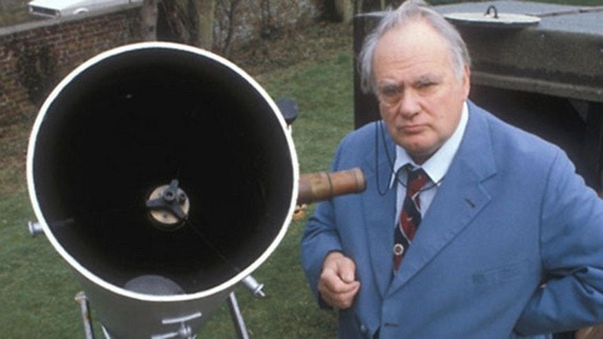 "Sir Patrick Moore, a British astronomer and popularizer of science, passed away on Sunday (Dec. 9). He was the host of the BBC's The Sky At Night,"" television's longest-running program."